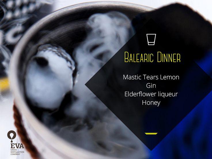 Mastic Tears Cocktail: Balearic Dinner
