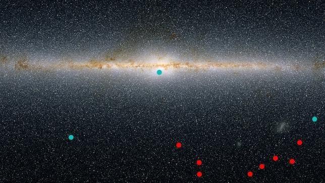 Descubren 8 minigalaxias satélite de la Vía Láctea, que podrían esconder el secreto de la materia oscura
