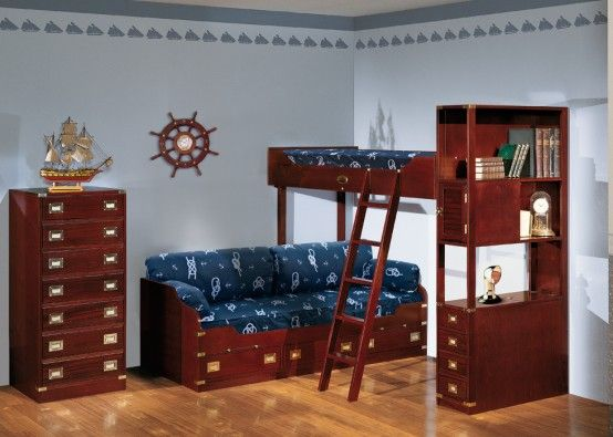 Pretty Theme Furniture for Girls and Boys Bedrooms by Caroti