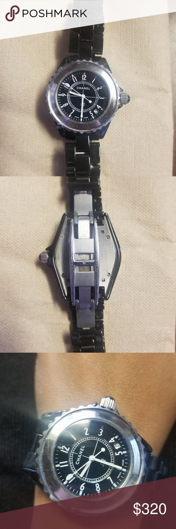 watch chanel j12 QUARTZ    WISS  MADE 200M AUTHENTIC CHANEL Accessories Watches