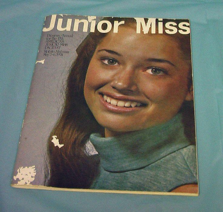 1974 America's Junior Miss Pageant Program Michael Landon Mobile Alabama ADS VTG #vintage #americajuniormiss #pageant #michaellandon