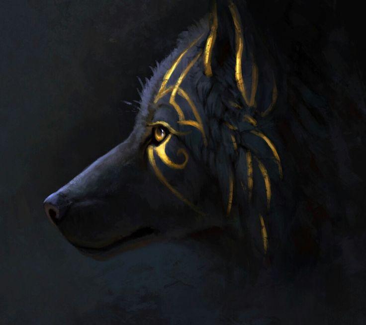 Meet the guardian wolf.