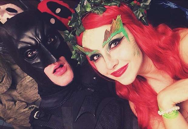 Batman + Poison Ivy