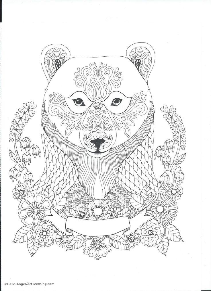 768 besten Coloring pages to print - Animals Bilder auf Pinterest ...