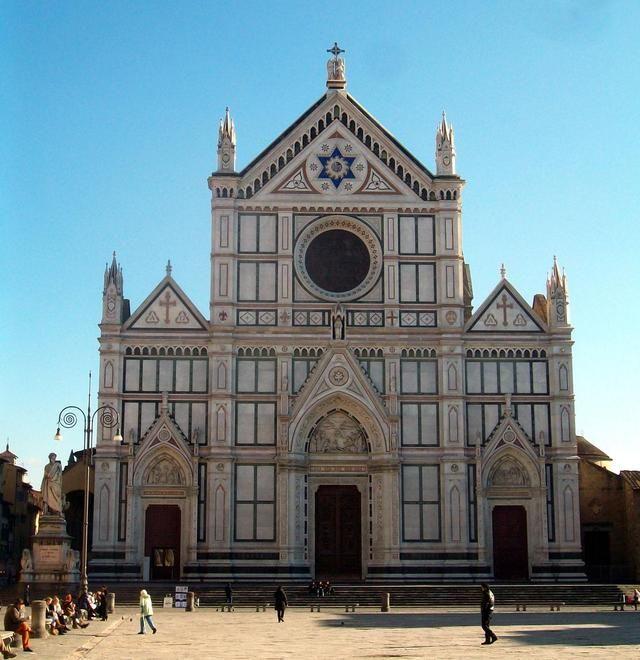 Basilica di Santa Croce, Firenze.