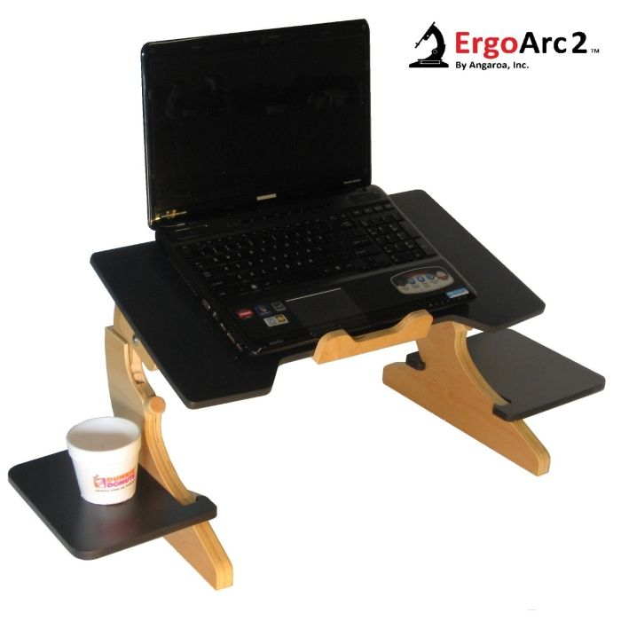 laptop bed desk tray book stand portable notebook computer step into my office pinterest. Black Bedroom Furniture Sets. Home Design Ideas