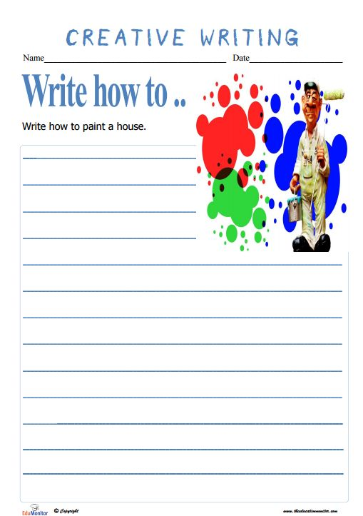 creative writing activities for elementary students Inspire your students to develop a passion for writing, practice reading comprehension, and build vocabulary and grammar skills with these language arts lesson plans.