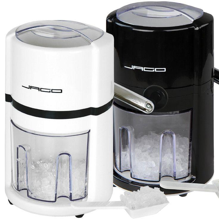 Amazon.de: Manuelle Eiscrusher Maschine Eismaschine Eiswürfelmaschine in 2 verschiedenen Farben