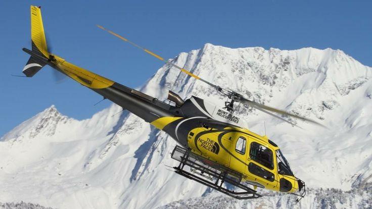 Mont Blanc Hélicoptères, Station de ski Les Arcs - Héliski