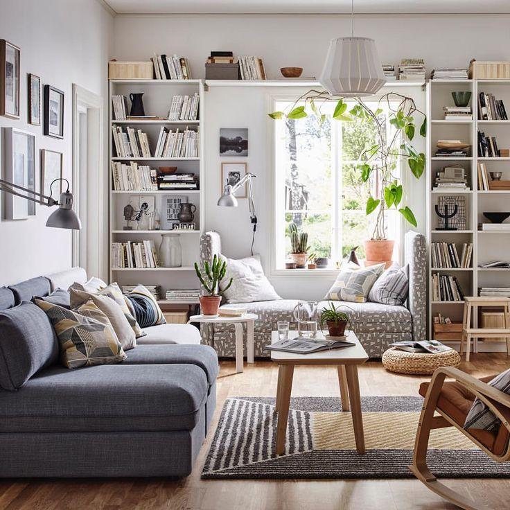Best 25+ Living room bookshelves ideas on Pinterest | Bookshelf ...