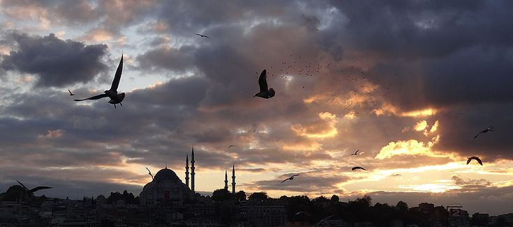 Istanbul sunset 5 weeks in Turkey [PICS] - Matador Network
