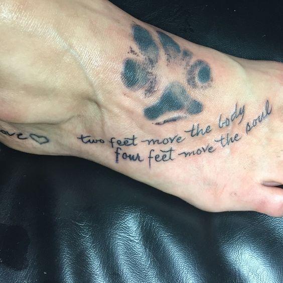 El | Las patas   – Tattoos