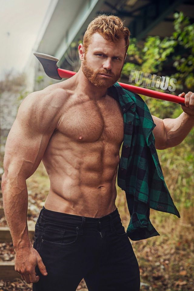 Nothing Like A Hard-Working Man  Handsome Men  Redhead -3603