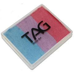 TAG Face Paint Base Blender Split Cakes -  TuTu (1.76 oz/50 gm)