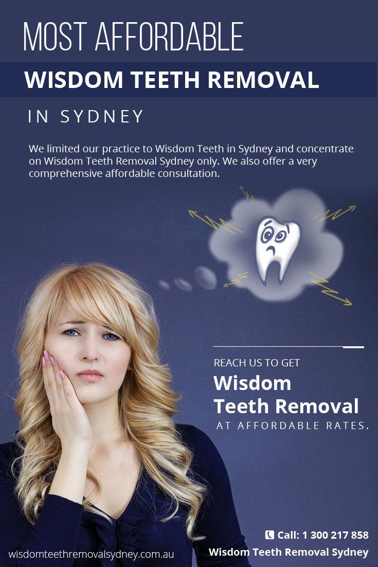 We limited our practice to Wisdom Teeth in Sydney and concentrate on #Wisdom_Teeth_Removal_Sydney only. We also offer a very comprehensive affordable consultation.