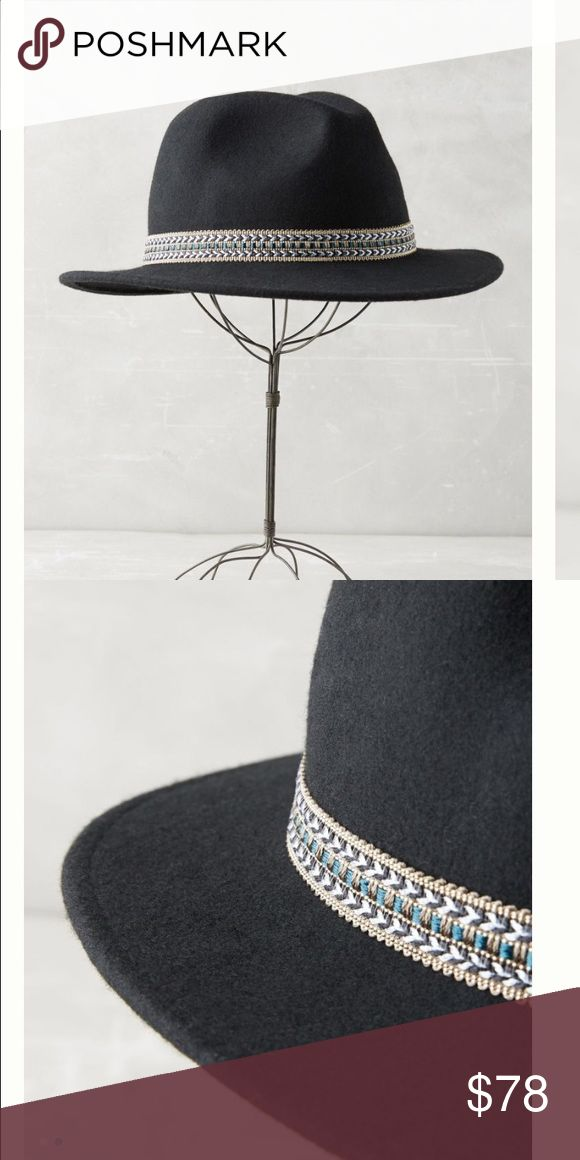 NEW beloved Rancher hat from Anthropologie Gorgeous detail. ✨bundle for 20% off✨ Anthropologie Accessories Hats