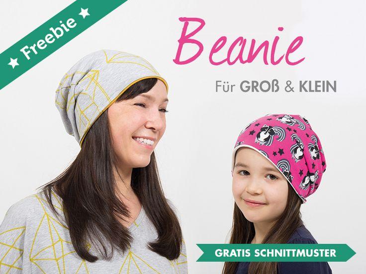Tolle Freebies für Dich: Beanie Mütze + Patchworktasche