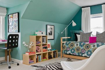 Youthful and light, these girls' bedrooms show an age-appropriate mix of playful spirit and design-savvy sophistication