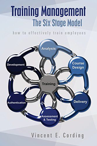 """Training Management - The Six Stage Model: how to effectively train employees by Vincent E Cording http://www.amazon.co.uk/dp/1493624237/ref=cm_sw_r_pi_dp_NGfBvb1XK6WTW  """"It is true that people are an organisation's most valuable asset; it is also true that unless they are trained correctly they can be an organisations most costly liability!"""""""