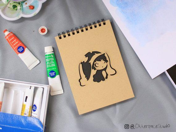 Studio Ghibli Theme Notebook  Ponyo Spiral by OtterspaceStudio