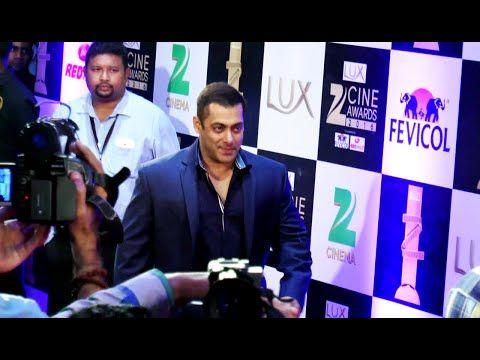 Salman Khan @ Red Carpet of Zee Cine Awards 2016   FULL UNCUT VIDEO.