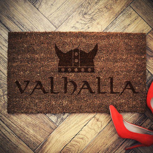 Vikings Doormat Coconut Valhalla Door Mat ($25) ❤ liked on Polyvore featuring home, outdoors, outdoor decor, floor & rugs, grey, home & living, grey doormat, grey door mat, rubber door mat and outdoor rubber mats