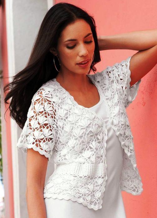 Summer Crochet Bolero Patterns for Girls