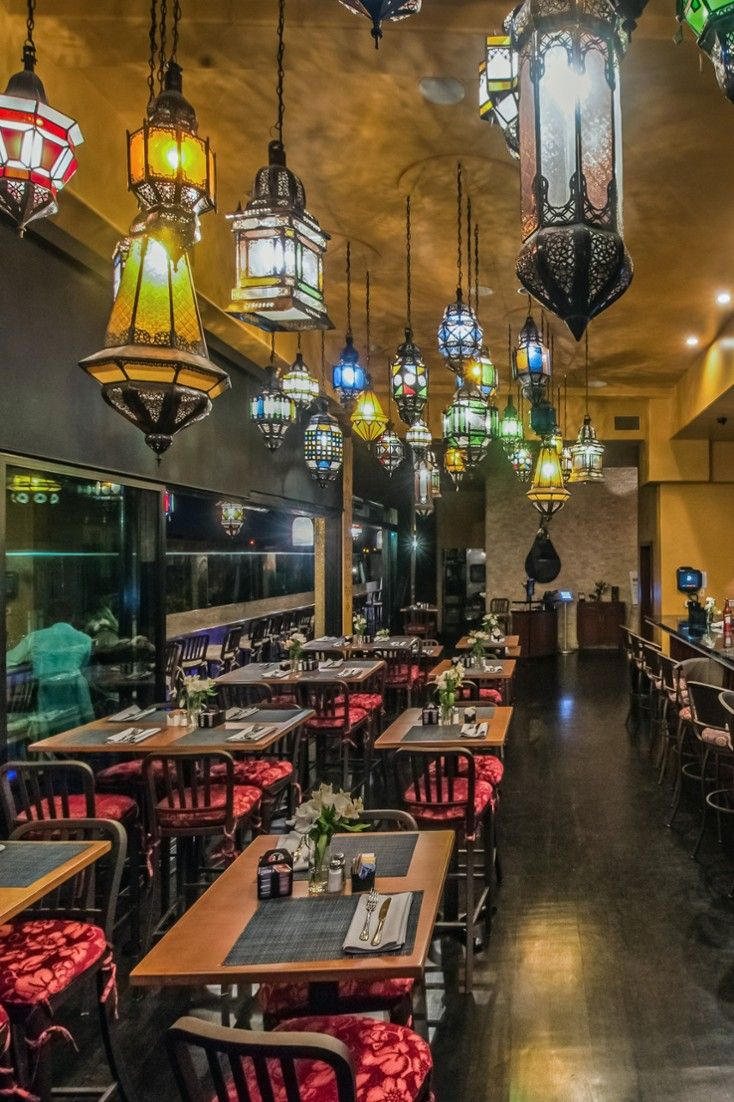 Glass Door Restaurant & Bar dishes up Mediterranean and Moroccan-infused fare. #Jetsetter