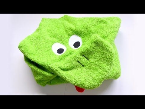 Toalla para bebé con capucha - Hooded baby towel - YouTube