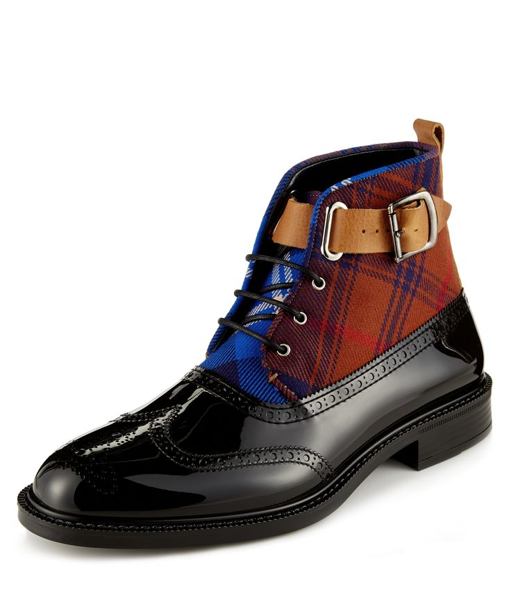 Black Mccambridge Brogue Boot By Vivienne Westwood