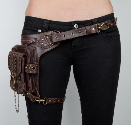 Han Solo's gun holster inspired this fanny pack....and it's actually pretty badass!