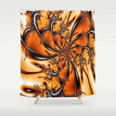 Fractals 2 Shower Curtain