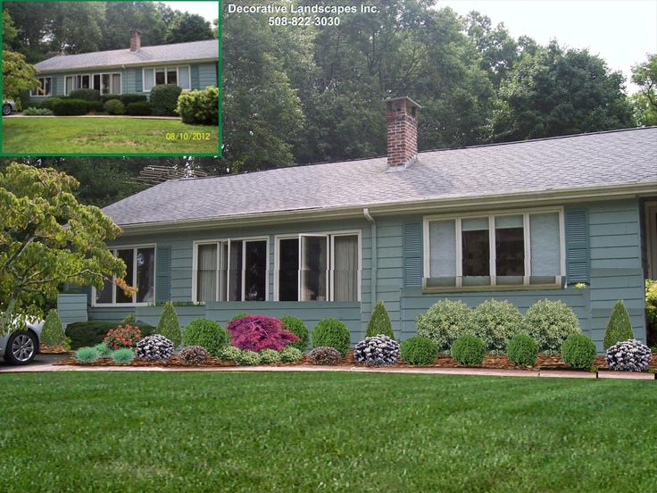 45 best Front of Home Landscape Designs images on Pinterest ...