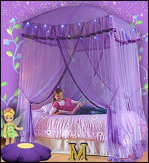 Aweaome! When I was my daughters age, my parents made my bedroom into a princess fairytale!