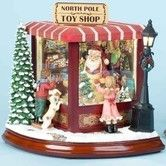 Found it at Wayfair - Santas North Pole Toy Shop 8Hx9Wx7.5D $100