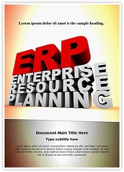 Enterprise Resource Planning Word Document Template is one of the best Word Document Templates by EditableTemplates.com. #EditableTemplates #PowerPoint #templates #Management #Information #Business #Enterprise