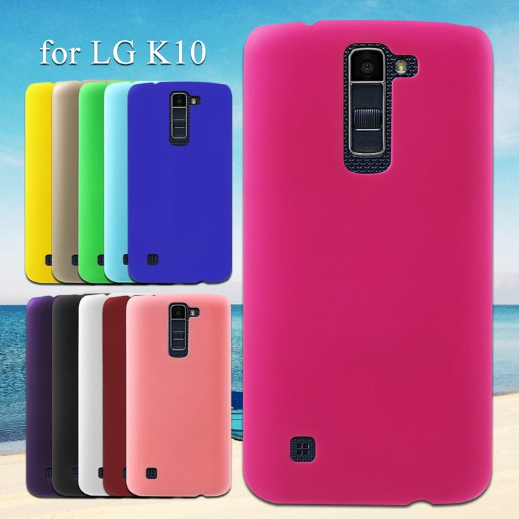For LG K 10 Phone Cover Rubberized Hard Protective Case for LG K10