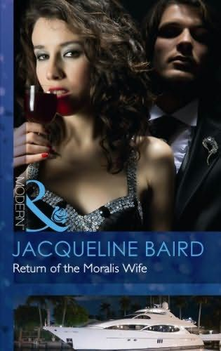 UK cover for Return of the Moralis Wife by Jacqueline Baird