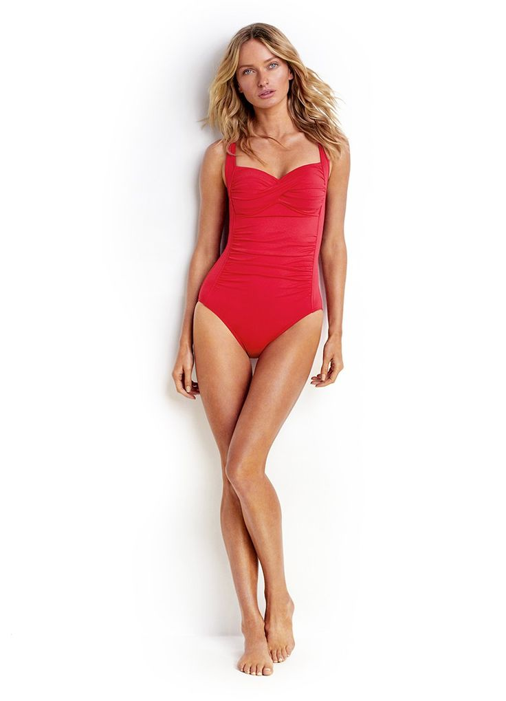 Seafolly Twist Halter One Piece Maillot