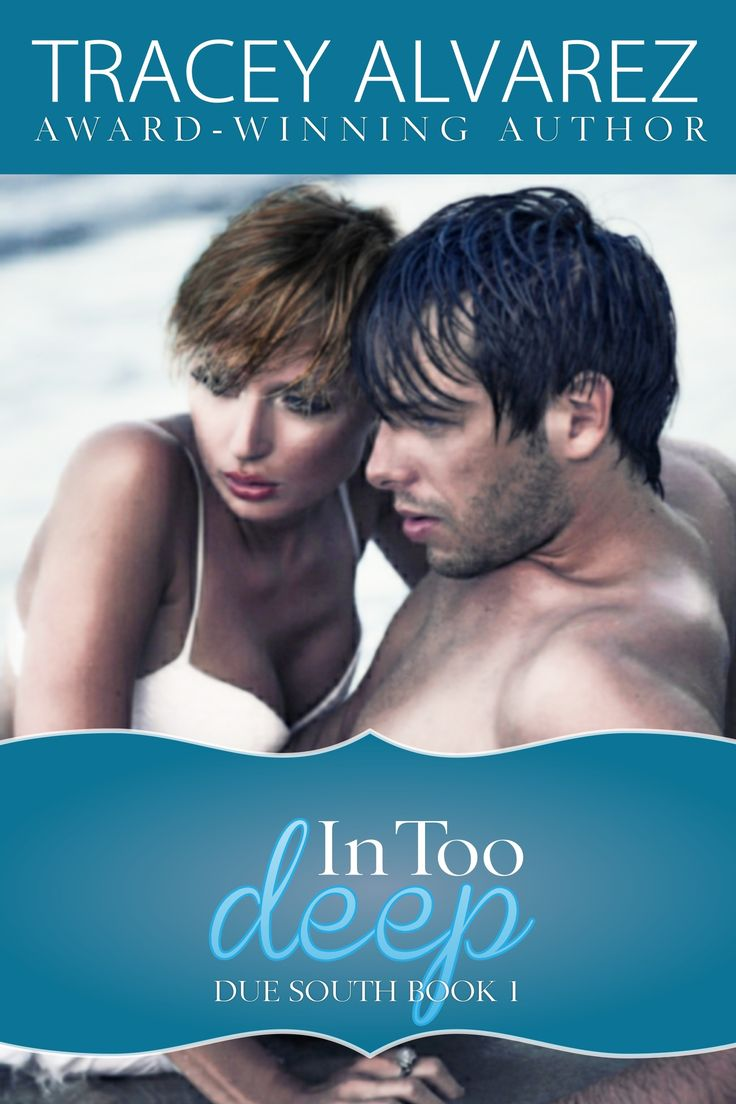 "In Too Deep (Due South Book 1) To save her brother from financial ruin, police diver Piper Harland does the one thing she swore she'd never do—return to the tiny island hometown on Stewart Island where Ryan ""West"" Westlake crushed her heart. West lost Piper once, but now she's back for an unexpected six week visit. Maybe he wants her a little bit, but can he fall in love with such a flight risk? Buy from Amazon: amzn.to/1cfyNR2 #contemporaryromance"