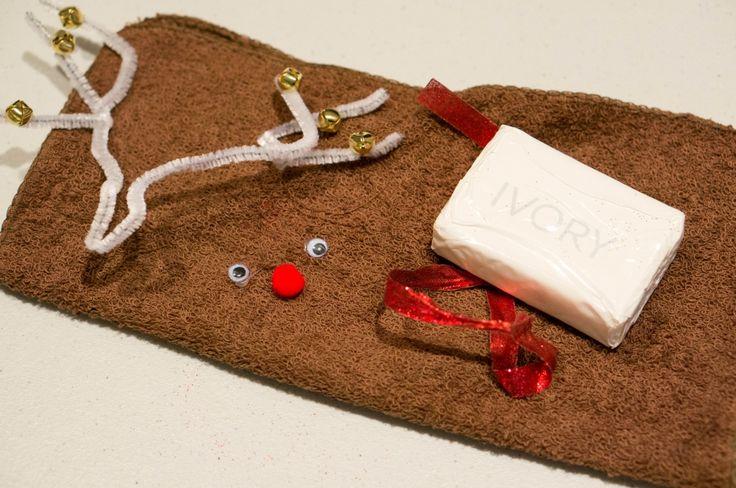 Reindeer Homemade christmas gift