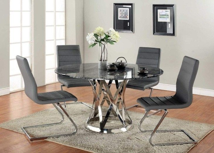 Dining Room Luxurious Italian Dining Furniture For Sumptuous Glass Dining Table And Black Leather Chairs Beautiful Dining Room With Sumptuous Glass Top Tables Glass Top Tables Pottery Barn Glass Top - pictures, photos, images