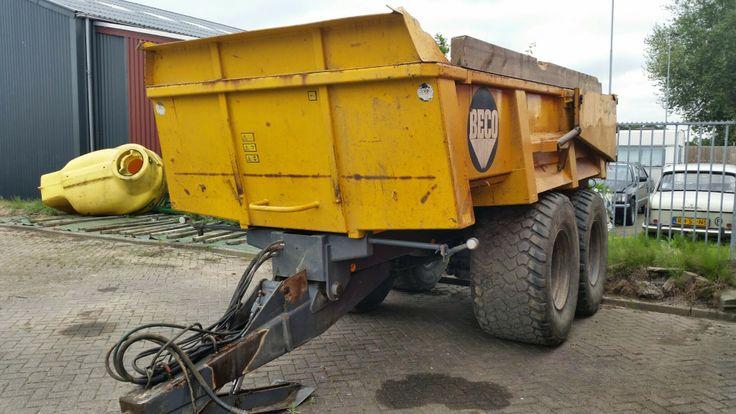 Beco Gigant 1600 gronddumper grondkar dumper