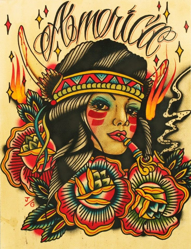 41 best canvas art native american tribal images on for Best tattoo artists in america