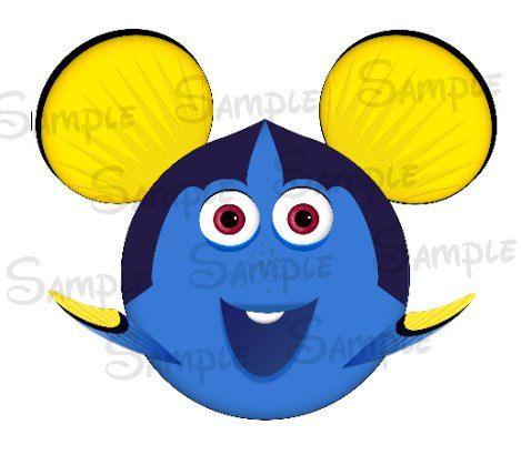 Dory buscando a Nemo inspiración DIGITAL por SwirlyColorPixels
