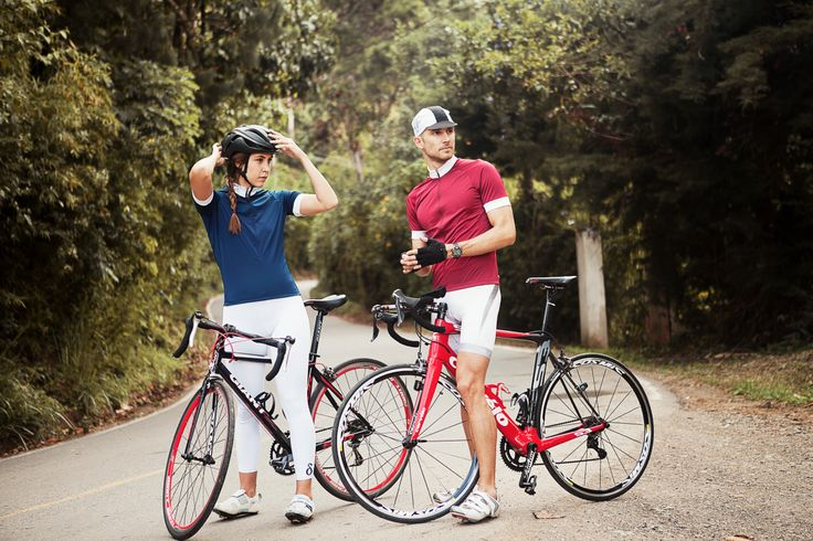 Dintra cycling unisex jersey & womens cycling compression pants