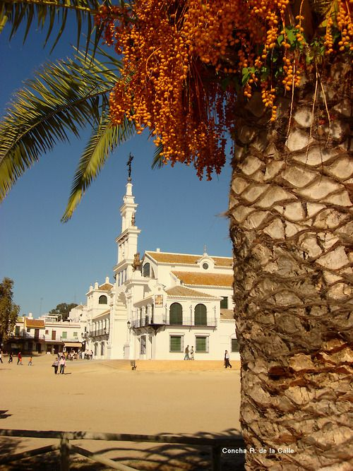 Ermita del Rocio. Almonte (Huelva)  Spain