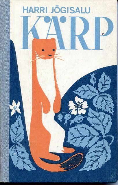 it's not KARP (box in Estonian) but KÄRP (weasel I think).