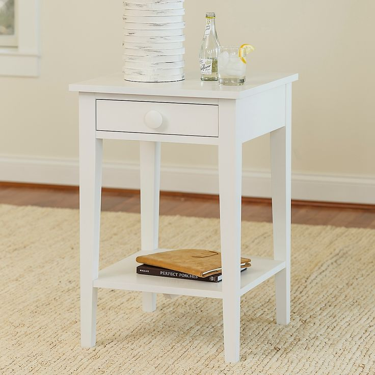 Addy Side Table With Shelf
