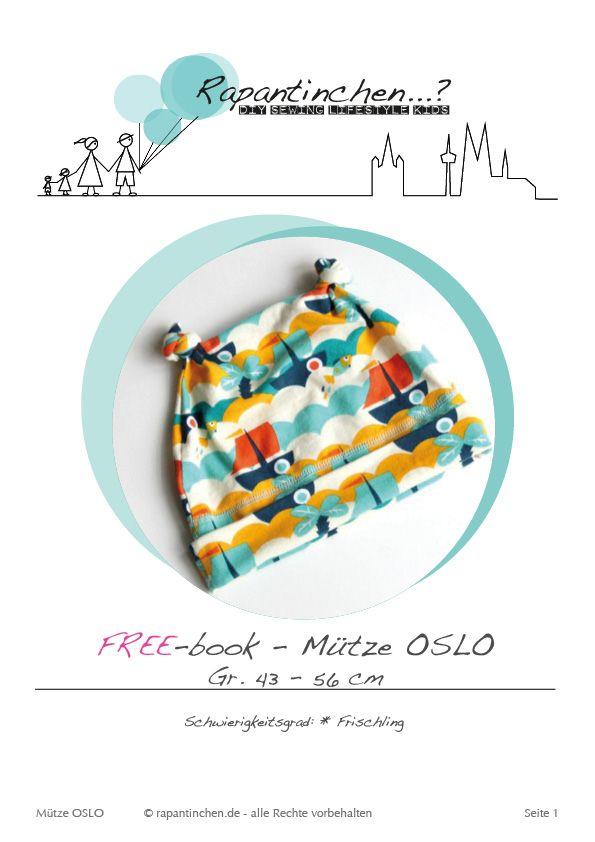 FreeBook - {Es herbstelt, drum gibt´s Mützen} | Nähblog von Rapantinchen - Schnittmuster für Anfänger